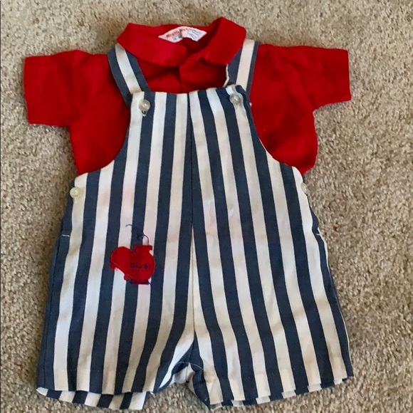 Vintage 1970s toddler overall Sz 18M